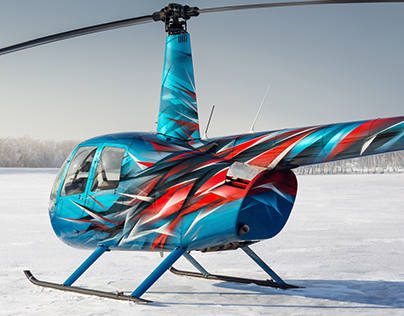 Helicopter painting