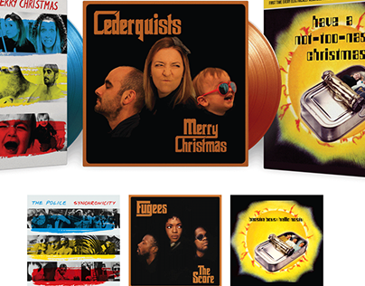 Record Cover Parody Greeting Cards