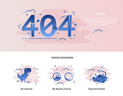 404 Error Screens