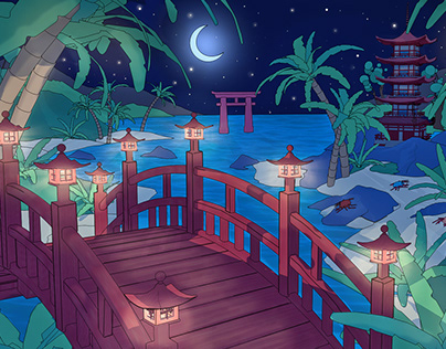 Bridge to the Island 島橋