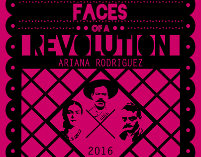 Postcard Design: Faces of a Revolution