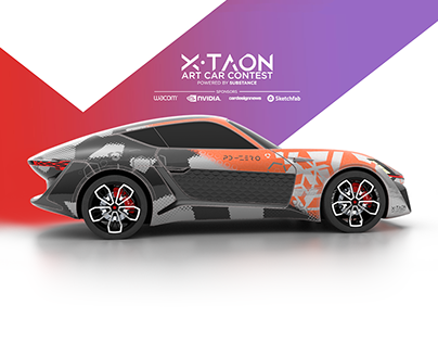 X-TAON: ART CAR TEXTURING CHALLENGE