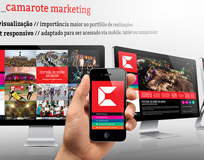 Site Camarote Marketing