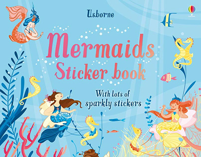 Mermaids Sticker book for Usborne Publishing