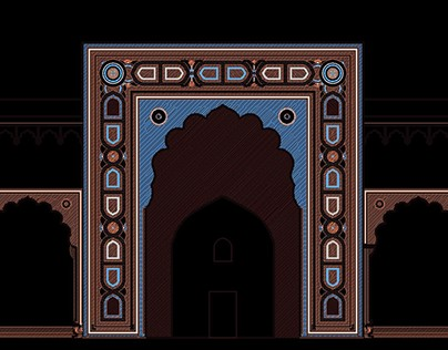 Indian Islamic Architectural Designs