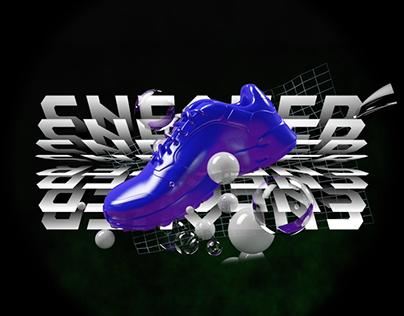 Sneaker Corner Falabella / Hologram Content