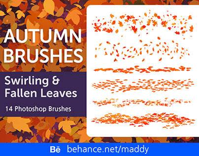 Autumn Leaves Brush Set for Subscribers