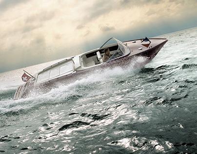 BOESCH Boats Switzerland Campagin