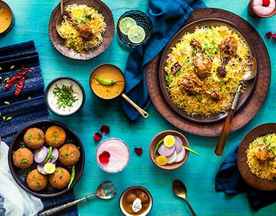 Biryani Blues - Food Photography