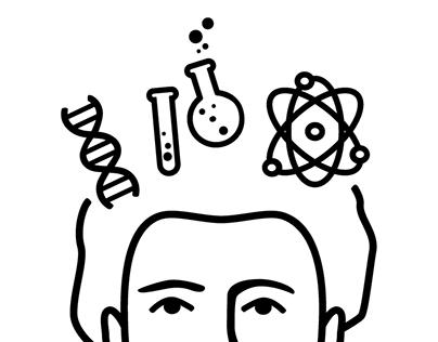 """Logotipo """"La caja de Curie"""""""