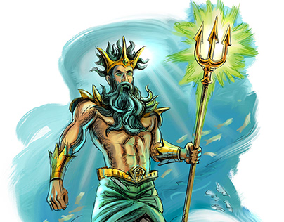Greek gods Character Art