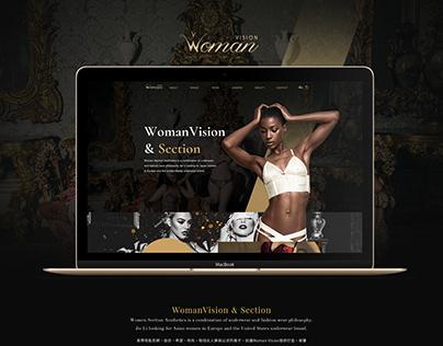 Woman Vision   Fashion Web Design