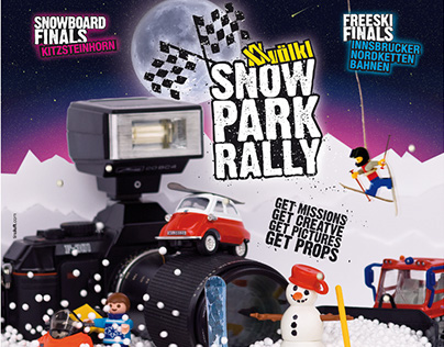 ART DIRECTION - Snowpark Rally
