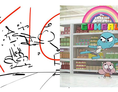 THE AMAZING WORLD OF GUMBALL - THE PARENTS (ROUGH)