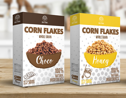 Eden Foods Corn Flakes - packaging