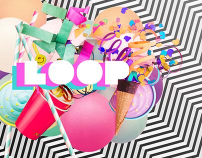 Loop Party #CollageDigital