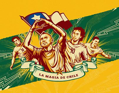 Cristal selección chilena.