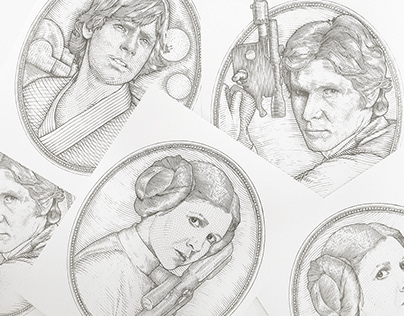 Star Wars Currency Sketches