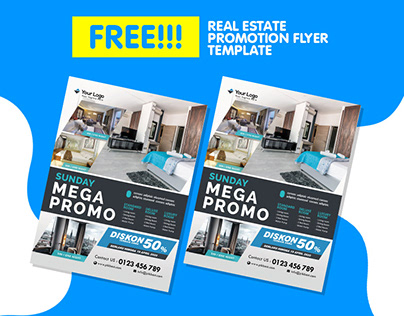 Hotel Flyer Templat For Promotion Template