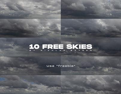 10 free skies - Dramatic skies