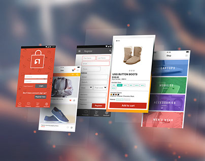 UI/UX Nepstra mobile app