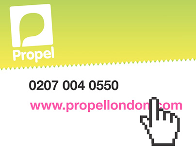 Animation for Propel London