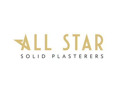 A + Star Logo Design - All Star Plasterers