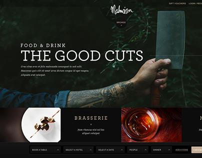 Malmaison Hotels Website