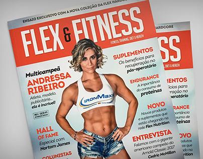Flex & Fitness - Edição de Imagem