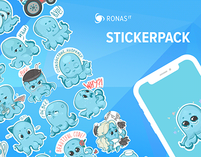 Ronas IT Stickerpack
