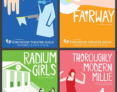 Kirkwood Theatre Guild Promotional Items