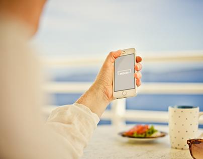 Photorealistic iPhone Mockup Set