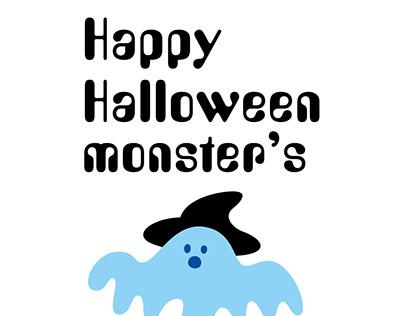 Happy Halloween Monster's