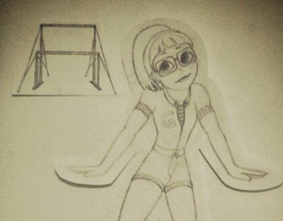 Gymnastics Sketches