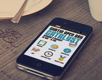 Curtin University - Open Day Mobile Website Update