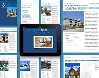 LeisureLink Look Book app