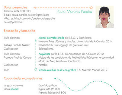 CV Paula Morales