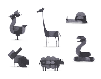 Even More Calligraphy Animals On Behance