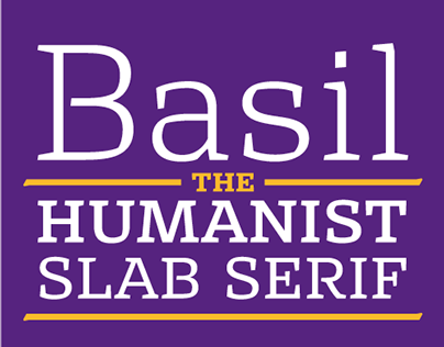 Basil - the humanist slab serif