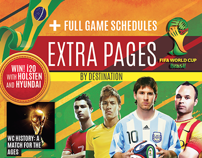 DESTINATION EXTRA PAGES WorldCup 2014