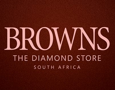 Browns Jewellers Advert Series