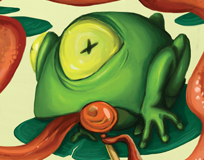 Postcard Series: Frogger