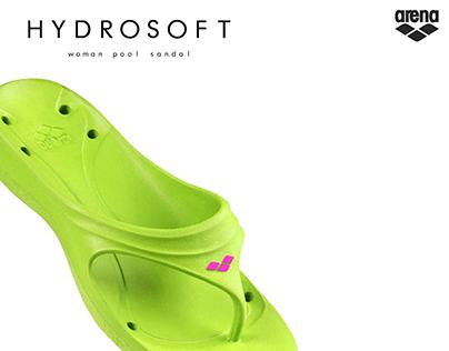 """HYDROSOFT"",  EVA pool sandal for woman"