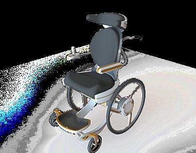 Wheelchair for children