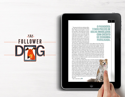 Videocase - Adote um Vira-Lata Follower Dog