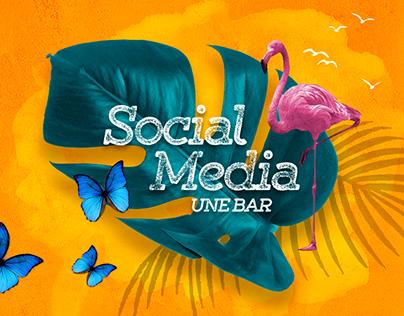 Une Bar | Social Media