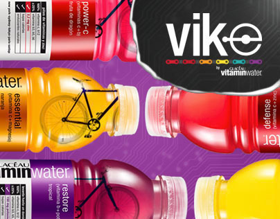 """Vike"" Web Campaign for vitaminwater & Create Bikes"