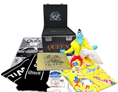 Queen Wembley Road Case