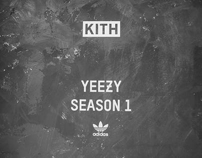 KITH x Yeezy Season 1 x Adidas