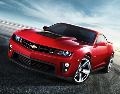 2014 Chevrolet Camaro Pre-Launch in the Middle East.